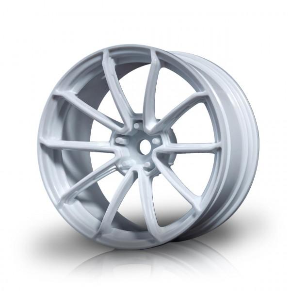 Drift Felge GTR Weiß (+5mm Offset) (4 Stück)