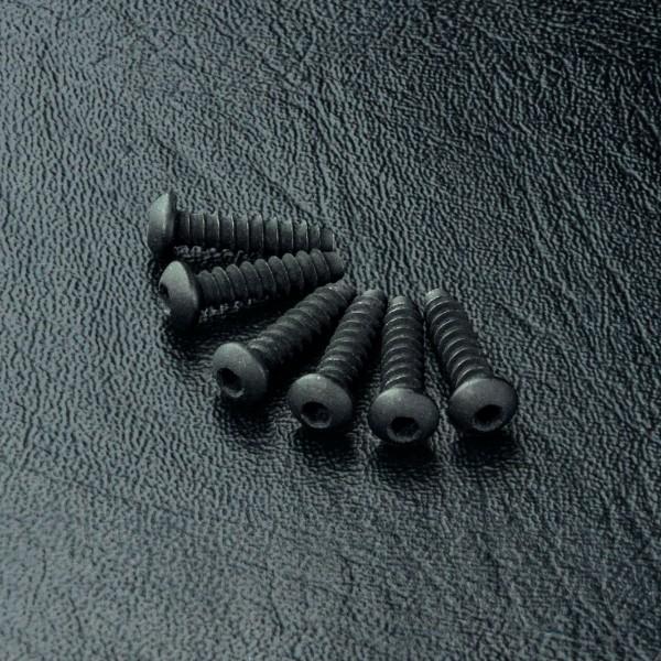 Rundkopfschneidschraube Innensechskant 2.6x10mm (6 Stück)