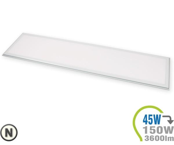 LED Panel 45W 120x30cm inkl. Treiber Neutralweiß