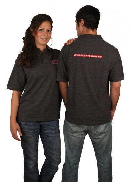 Robitronic Polo Shirt L 60% Baumwolle 40% Polyester