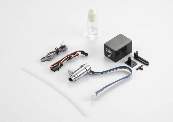 Auspuffanlage mit Dampf und LED