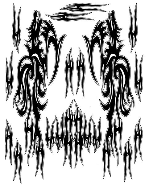 Airbrush Maske Slayer