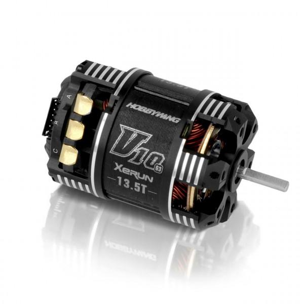 Xerun V10 Brushless Motor G3 3710kV (2-3s) 13.5T Sensored fü
