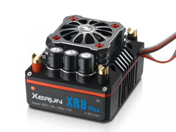 Xerun XR8 Plus Brushless Regler 150A, 3-6s LiPo, BEC 6A