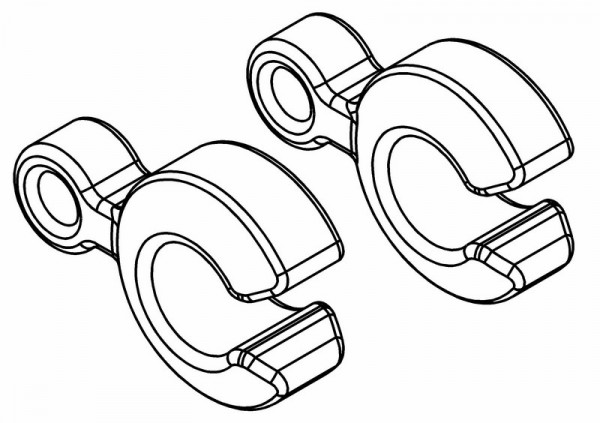 Radstand Einstell Clips 6.5-7mm