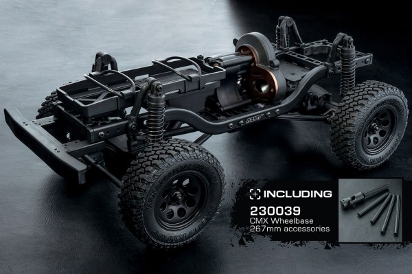 CMX 4WD Crawler KIT Mittelmotor Radstand 242/252/267mm