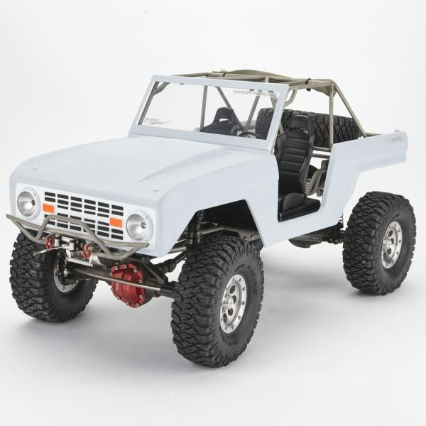 Scale Chassis 1/10 mit GFK Karo & Stahlrahmen Radstand 305mm