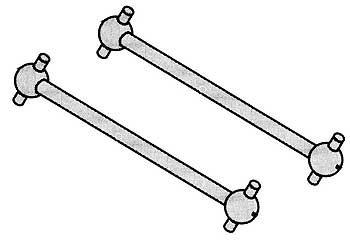 Antriebsknochen ETC (2 Stk)