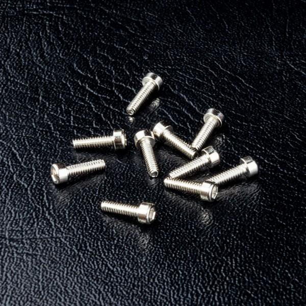 Zylinderkopfschraube Innensechskant M1.6x6mm (10 Stück)