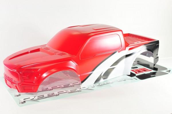Reeper Karosserie Rot lackiert mit Dekorbogen