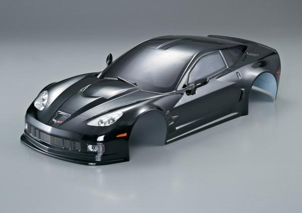 Corvette GT2 Karosserie Schwarz 190mm RTU