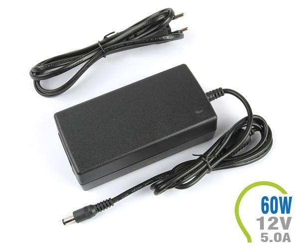 LED Netzteil EMC 60W 12V 5A Kunststoff