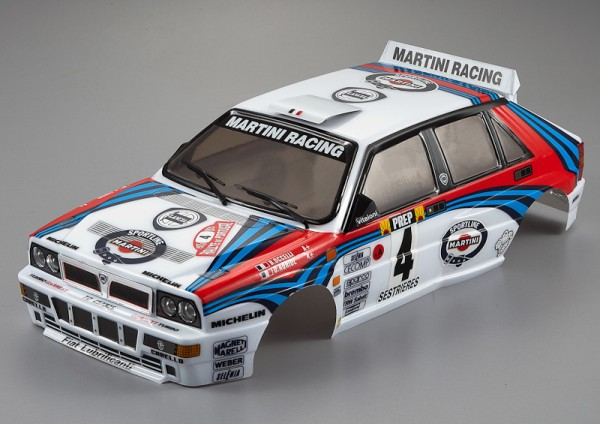 Lancia Delta HF Integrale Karosserie Rally-Racing 195mm RTU