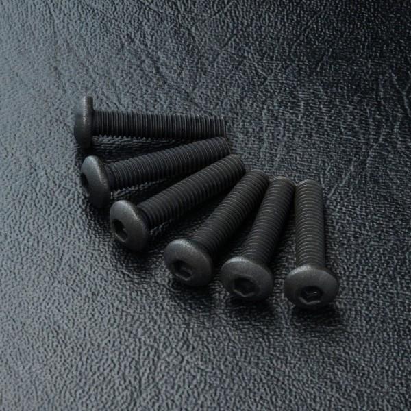 Rundkopfschraube Innensechskant M3x14mm (6 Stück)