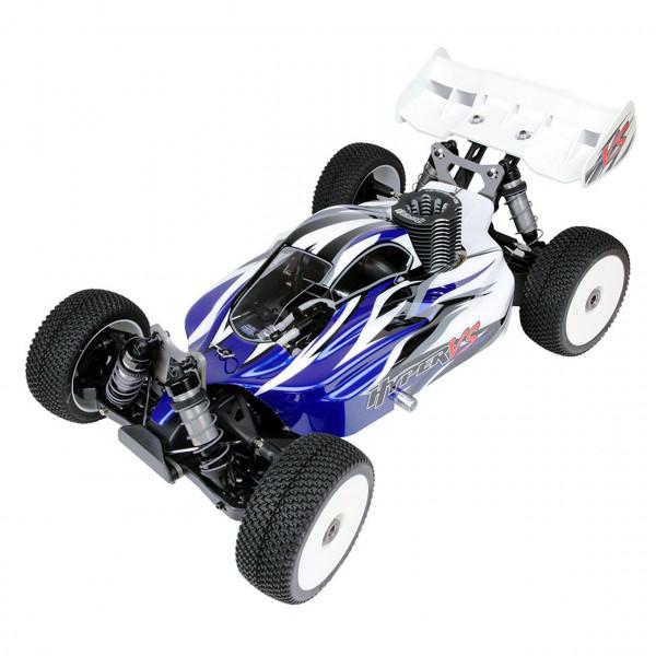 Hyper VS Nitro Buggy 21 1/8 mit blauer Karosserie
