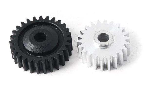Zahnrad Set Alu/Kunststoff Z22/Z27 (C/D) Standard
