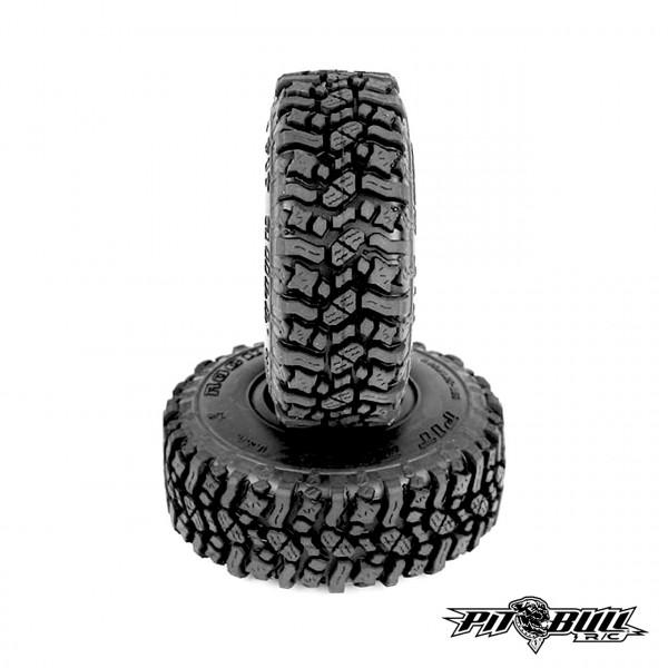 Rock Beast 1.55 Scale Reifen Alien Kompound mit Einlagen (2