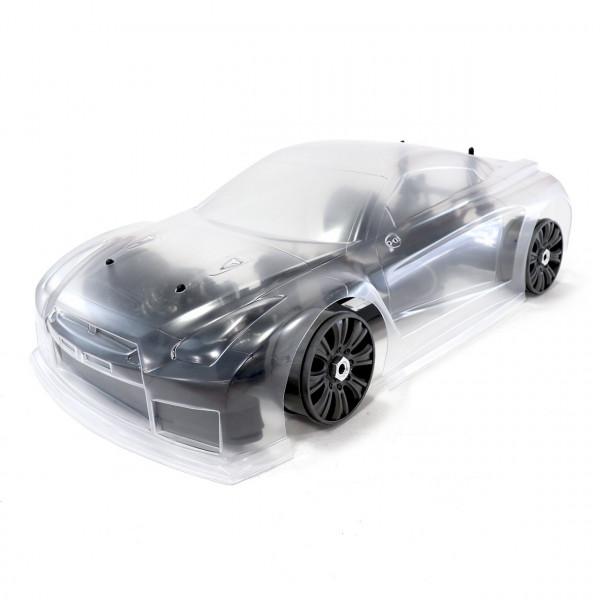 Hyper VTE On-Road Long Chassis 1/8 80% ARR Roller (klare Kar