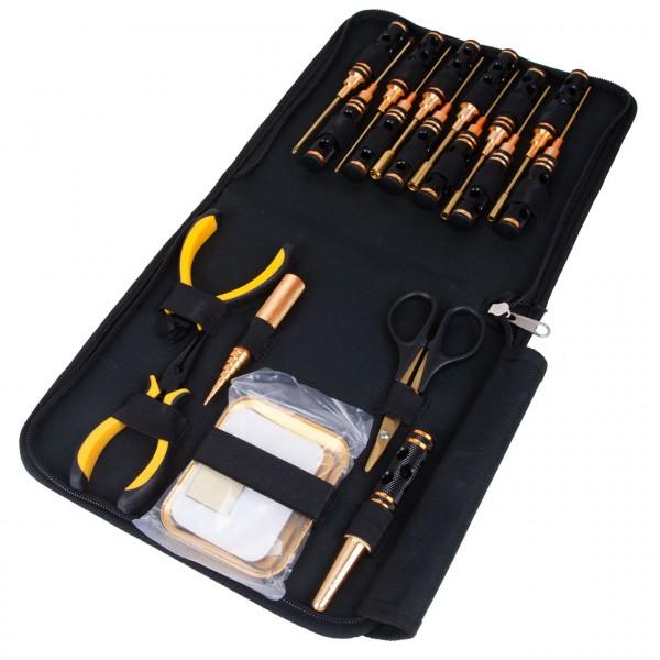 Werkzeugset light 18 in 1 + Tasche