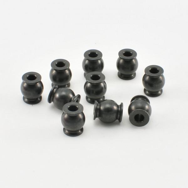Kugelkopf mit Flansch Hinten Vorspur 7,8/3mm (10 Sk.)