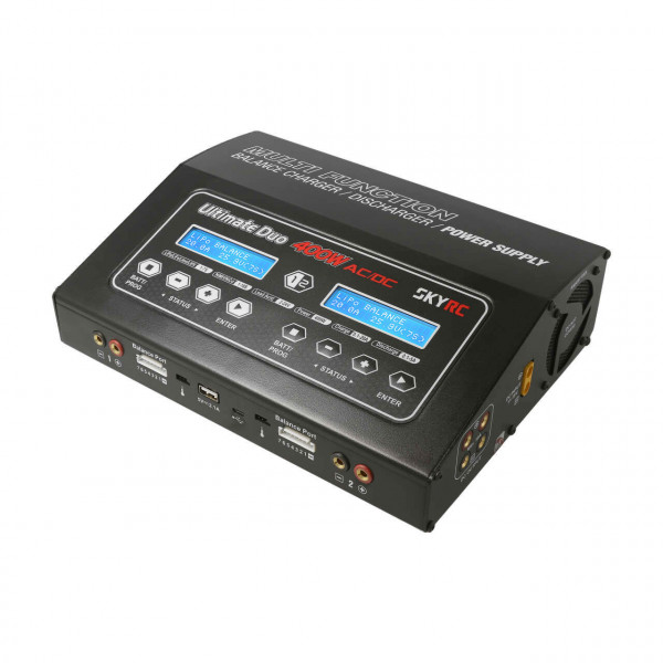 D400 AC/DC Ladegerät LiPo 1-7S 20A 2x200W