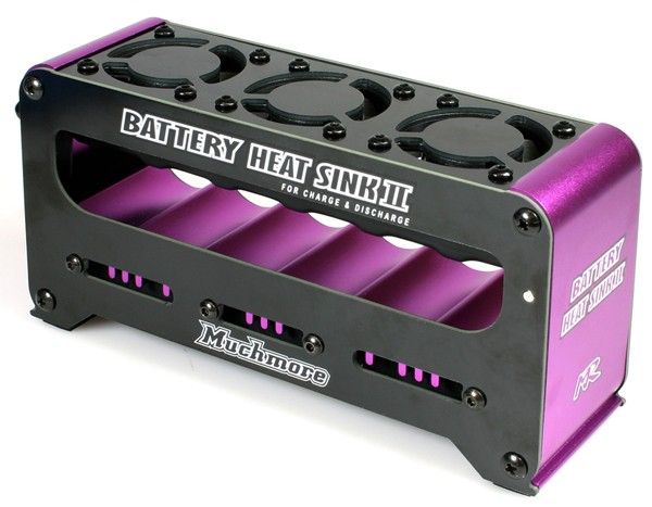 Akku Kühlvorrichtung Purple