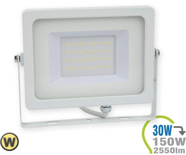 LED Strahler 30W SMD Slim Warmweiß