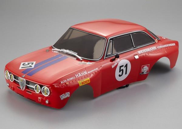 Alfa Romeo 2000 GTAm Karosserie Rot 195mm RTU all-in