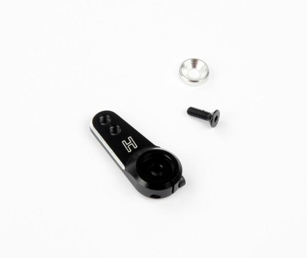 Aluminium Servo Arm 24 Zähne (leicht) Schwarz