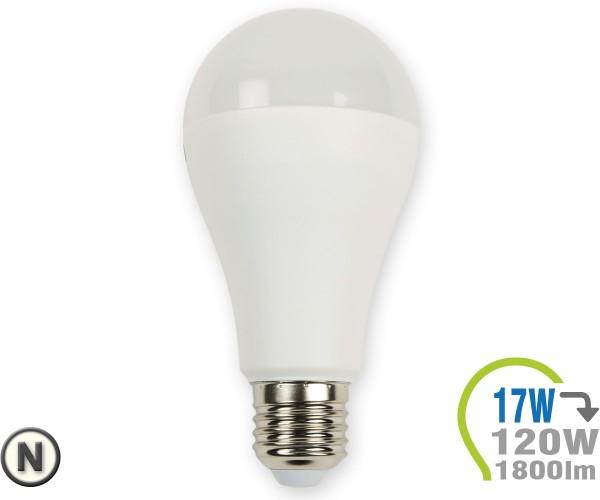 E27 LED Lampe 17W A65  Neutralweiß