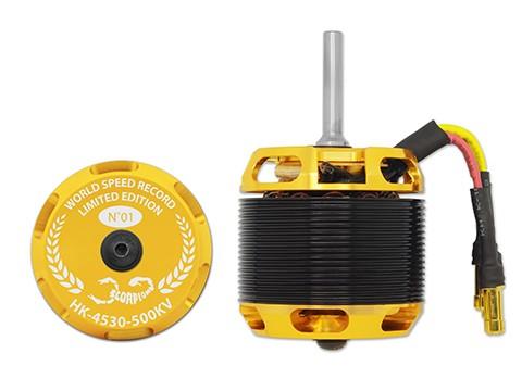 HK-4530-500KV  Scorpion Motor (8mm Welle)
