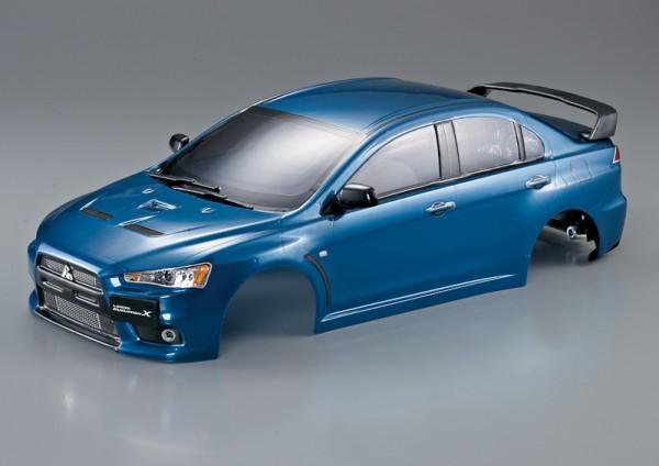 Mitsubishi Lancer Evo X Karosserie Metallic Blau 190mm RTU