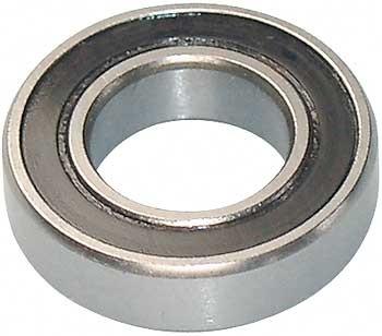 Kugellager 10x19x5 mm mit Gummidichtung