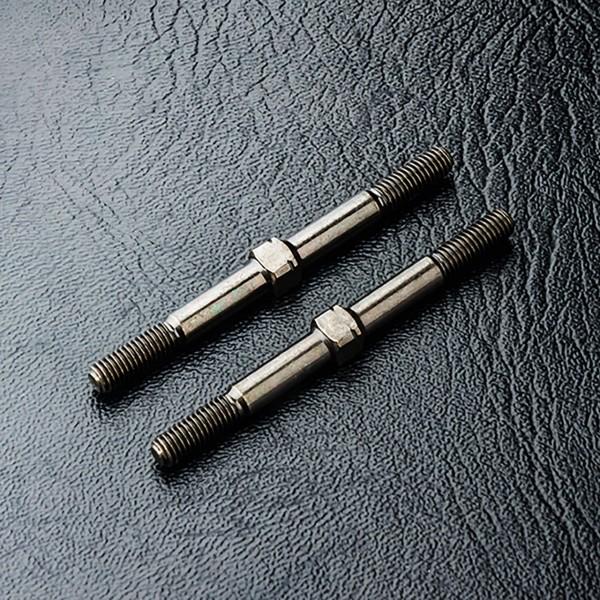 Gewindestange Gewindestange L/R Stahl 3x40mm (2 Stück)