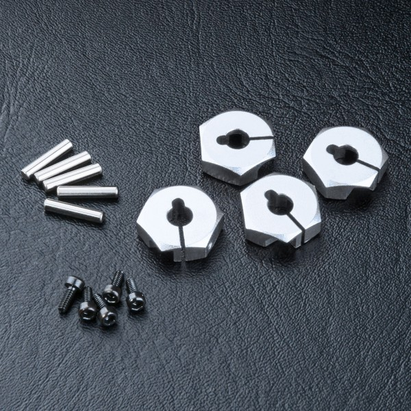 Radmitnehmer Alu 5mm silber (4 Stück)