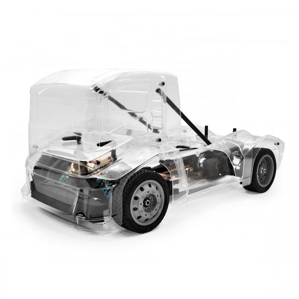 Hyper EPX Semi Truck On-Road ARR klare Karosserie