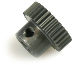 Motorritzel 64dp 28Z Aluminium Bohrung 3,17mm