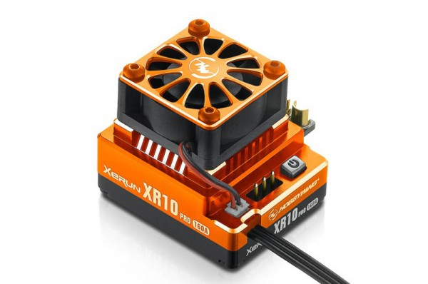 Xerun XR10 Pro Brushless Regler Orange 160A, 2-3s LiPo