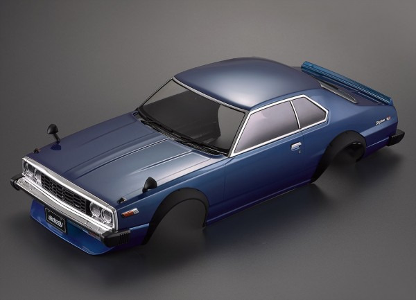Nissan Skyline Hardtop 2000 (1977) Karosserie lackiert Blau