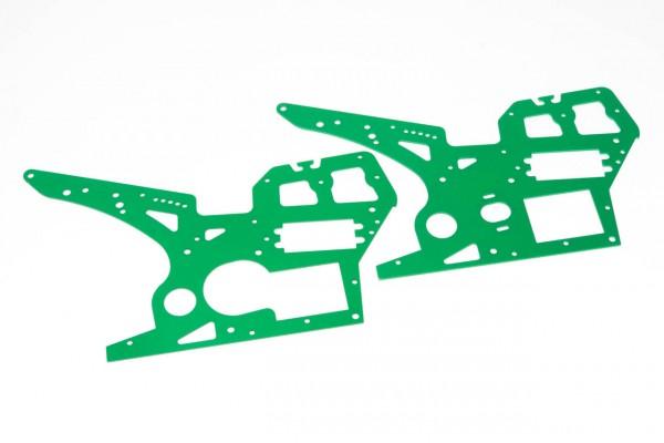 Seitenrahmen Grün für SR5 Motorrad RB-B001/2