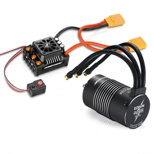 Ezrun MAX8 Combo mit SL-4268-2600kV Sensorless
