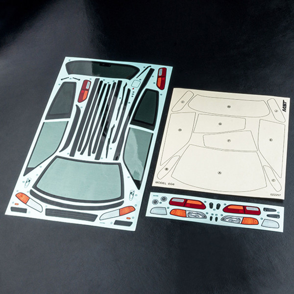 MST HONDA CIVIC EG6 body sticker