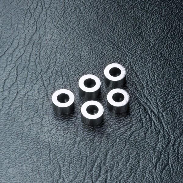 Beilagscheibe Alu 3x5.5x3.0mm silber  (5 Stück)