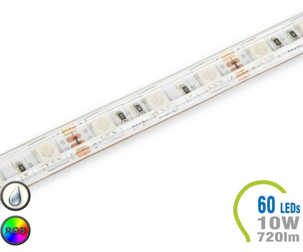 LED Stripe 60 LED/m 720 lm/m RGB IP65