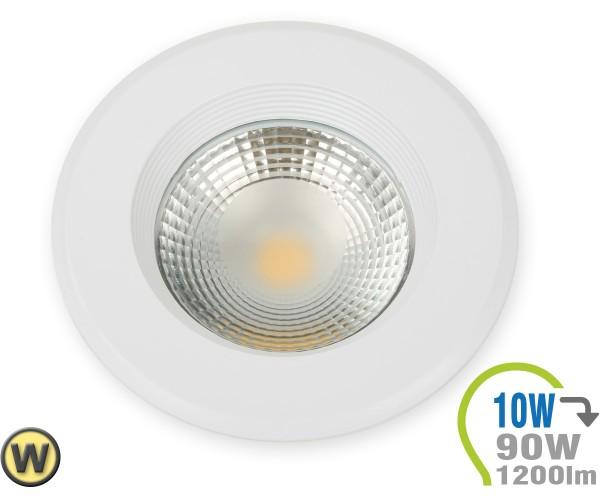 LED Einbauleuchte 10W Rund Warmweiß