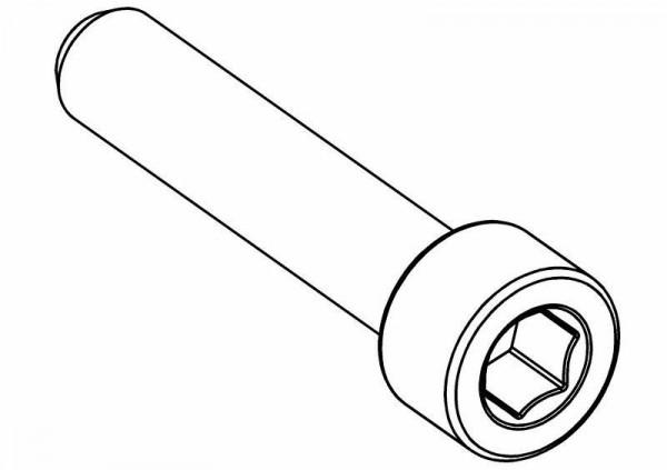 Zylinderkopf Innensechskantschraube M4x20 mm