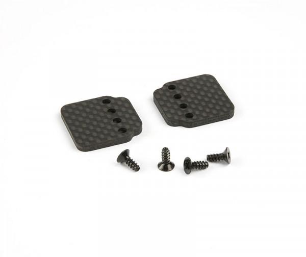 Axial Carbon Fiber Hump Pack Battery Plate (2pcs)
