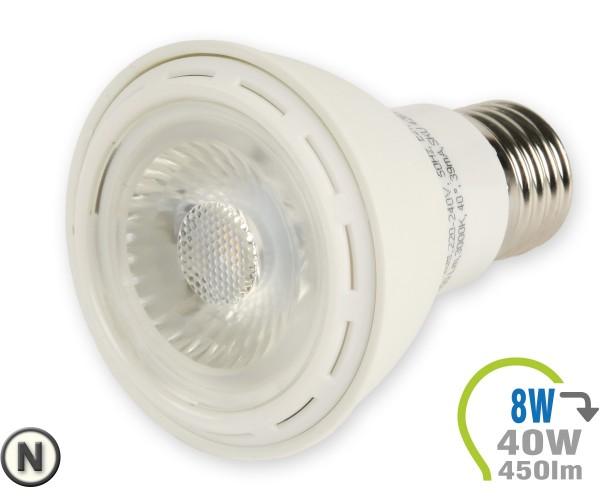 E27 LED Lampe 8W Spot PAR20 Neutralweiß