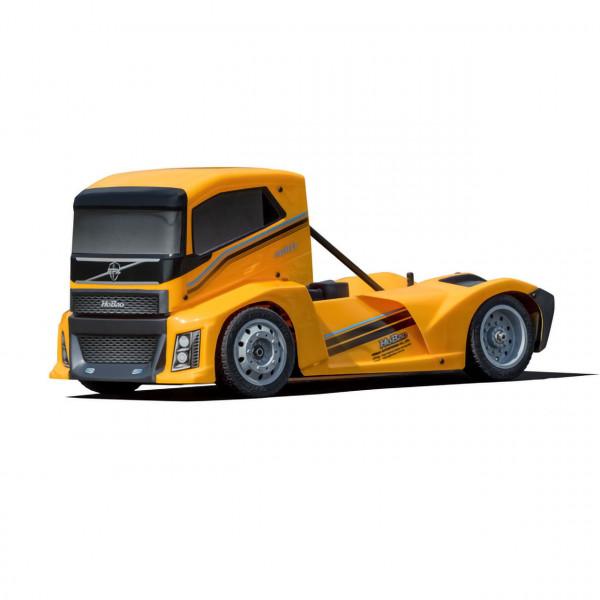 Hyper EPX Semi Truck On-Road ARR Karosserie Gelb
