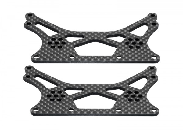 XR10 Carbon Fiber Chassis Set (2pcs)